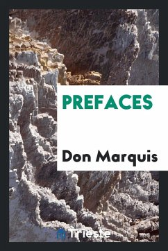 9780649382354 - Marquis, Don: Prefaces - Book