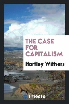 9780649382903 - Withers, Hartley: The case for capitalism - Book