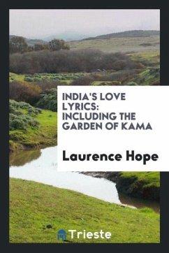 9780649382859 - Hope, Laurence: India´s love lyrics - Libro