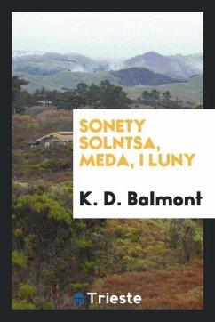9780649363759 - Balmont, K. D.: Sonety solntsa, meda, i luny - Књига