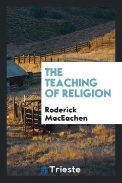 9780649363926 - Maceachen, Roderick: The teaching of religion - Књига