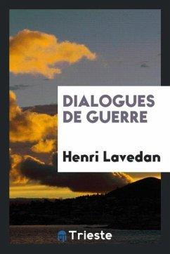 9780649363506 - Lavedan, Henri: Dialogues de guerre - كتاب