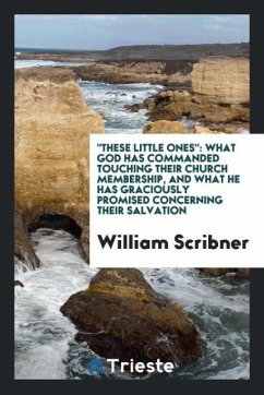 9780649382255 - Scribner, William: ´´These little ones´´ - Book