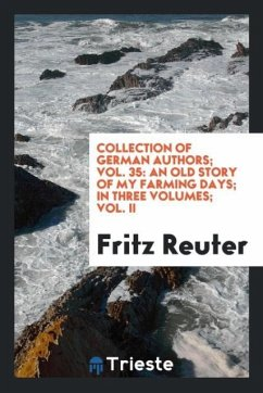 9780649382224 - Reuter, Fritz: Collection of German authors; Vol. 35 - Libro