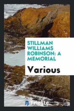 9780649363131 - Various: Stillman Williams Robinson - Књига