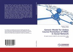 Generic Model for Online Course Promotion of HRDC in Social Network