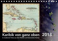 Karibik von ganz oben (Tischkalender 2018 DIN A5 quer)