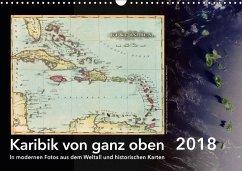 Karibik von ganz oben (Wandkalender 2018 DIN A3 quer)