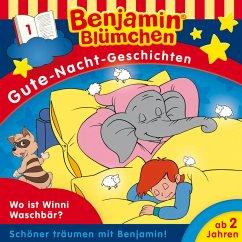 Benjamin Blümchen - Gute-Nacht-Geschichten - Wo ist Winnie Waschbär? (MP3-Download)