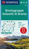 KOMPASS Wanderkarte Brentagruppe, Dolomiti di Brenta