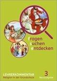 fragen - suchen - entdecken. Ausgabe für Bayern. Lehrerband 3. Schuljahr