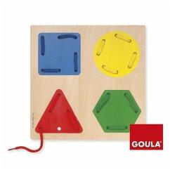 Goula Fädelspiel Geometrische Formen