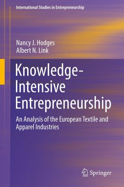 Knowledge-Intensive Entrepreneurship - Hodges, Nancy J.; Link, Albert N.