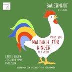 Vicky Bo's Malbuch für Kinder - Bauernhof