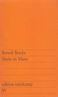 Mann ist Mann (eBook, ePUB) - Brecht, Bertolt