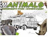 Adlung ADL51023 - Manymals Serengeti-Park Hodenhagen, Lernspiel, Kartenspiele