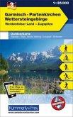 Kümmerly+Frey Outdoorkarte Garmisch-Partenkirchen, Wettersteingebirge