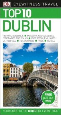 DK Eyewitness Top 10 Travel Guide Dublin