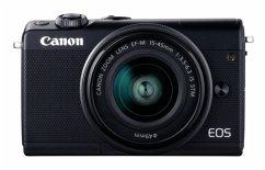 Canon EOS M100 Kit grau + EF-M 15-45 + EF-M 55-200
