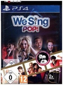 We Sing: Pop - 2 Mikrofone Bundle (PlayStation 4)