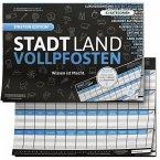 Stadt Land Vollpfosten® - Wissen ist Macht, Einstein Edition, Offizielle Erweiterung des Klassikers, 50 Blätter