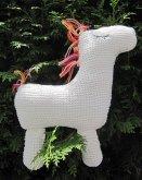 Strickanleitung Pferd- Kissen oder Spielzeug- 32x28 cm (eBook, ePUB)