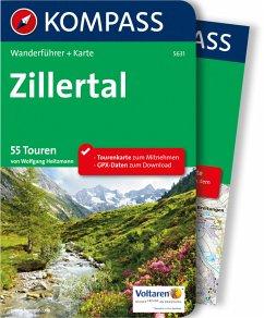Kompass Wanderführer Zillertal (eBook, PDF) - Heitzmann, Wolfgang