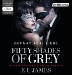 Fifty Shades of Grey - Gefährliche Liebe / Shades of Grey Trilogie Bd.2 (2 MP3-CDs) (Mängelexemplar)