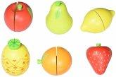 Goki 51597 - Obst mit Klettverbindung, Kaufladenzubehör