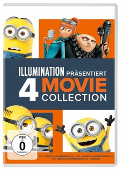 Ich-Einfach Unverbesserlich 1-3 & Minions DVD-Box - Keine Informationen
