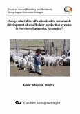 Does product diversification lead to sustainable development of smallholder production systems in Northern Patagonia, Argentina? (eBook, PDF)