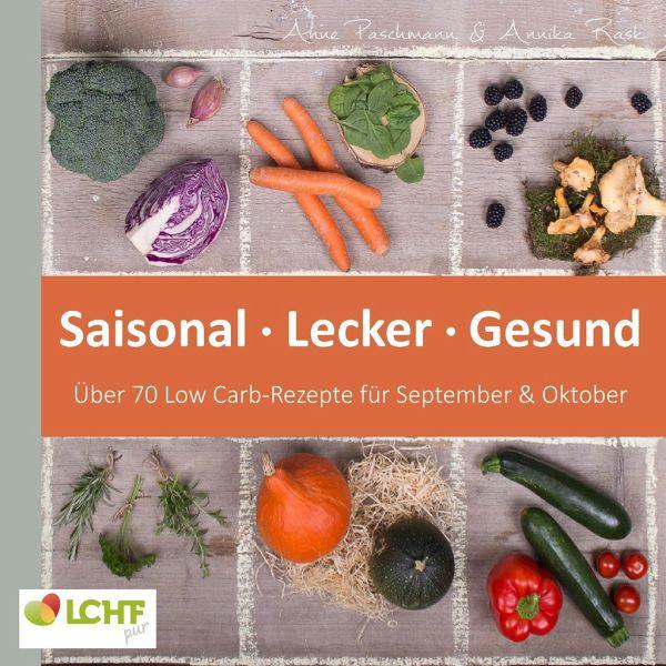 LCHF pur: Saisonal. Lecker. Gesund - über 70 Low Carb-Rezepte für September & Oktober - Rask, Annika; Paschmann, Anne