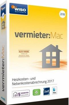 WISO vermieter:Mac 2018 - Heizkosten- und Nebenkostenabrechnung 2017 - Schnell, einfach, genial