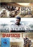 Ben Hur / Gladiator / Spartacus - 3 Movie Edition DVD-Box