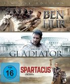 Ben Hur / Gladiator / Spartacus - 3 Movie Edition BLU-RAY Box