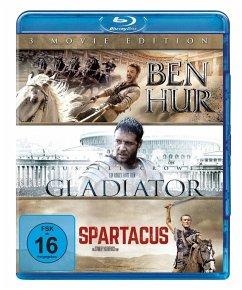 Ben Hur / Gladiator / Spartacus - 3 Movie Edition BLU-RAY Box - Jack Huston,Toby Kebbell,Morgan Freeman
