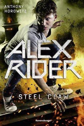 Buch-Reihe Alex Rider von Anthony Horowitz