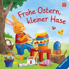 Frohe Ostern, kleiner Hase
