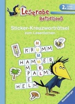 Sticker-Kreuzworträtsel zum Lesenlernen (2. Les...