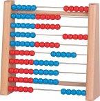 Goki 58529 - Abacus, Rechenrahmen mit 100 Holzperlen