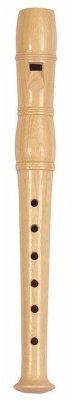 Goki UC120 - Blockflöte, Holz, 20 cm
