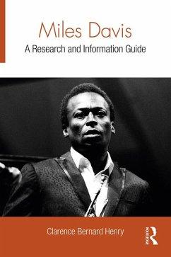 Miles Davis (eBook, ePUB) - Henry, Clarence Bernard