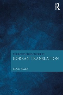 The Routledge Course in Korean Translation (eBook, PDF)