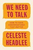 We Need To Talk (eBook, ePUB)