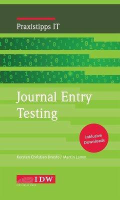 Journal Entry Testing - Droste, Kersten Chr.; Lamm, Martin