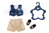 Zapf Creation 824511 - Baby Born®, Trachten-Outfit Junge,