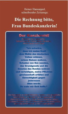 Die Rechnung bitte, Frau Bundeskanzlerin! (eBook, ePUB) - Hannappel, Heiner