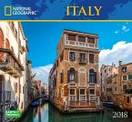 National Geographic Italy 2018 Wall Calendar
