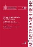 33. und 34. Münsterischer Versicherungstag (eBook, PDF)