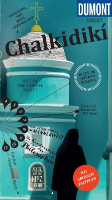 DuMont direkt Reiseführer Chalkidiki (eBook, PDF) - Bötig, Klaus